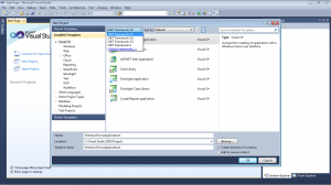 Picture 1. How to create Web Service in ASP.NET