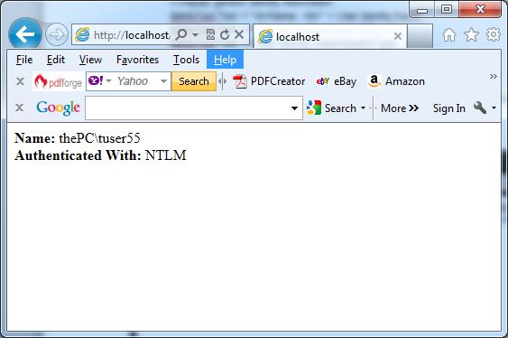 Displaying user information in C#